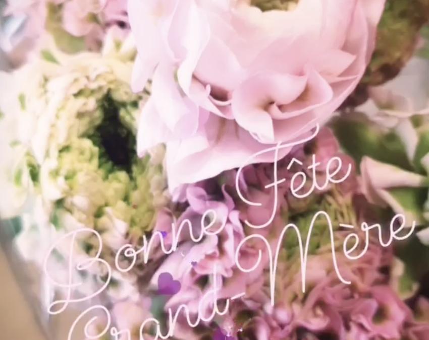 Fête des Grands-Mères Dimanche 7 Mars 2021